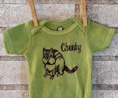 Baby Onesie Cheeky Chipmunk