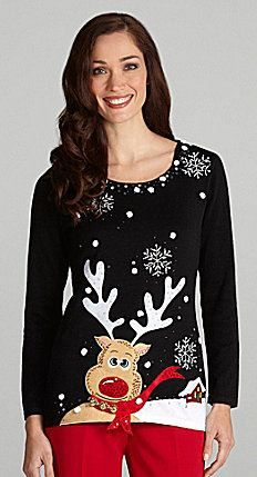 Where this only for a tacky Christmas sweater party