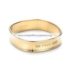 Tiffany And Co Bangle Square Gold