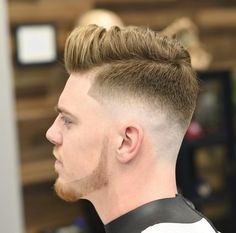 jose.crespo_+mens+haircut+with+low+fade+and+side+part+pompadour