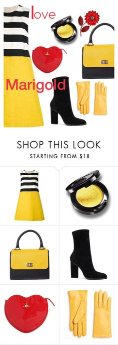 """""""I heart marigold"""" by sunnydays4everkh ❤ liked on Polyvore featuring 'S MaxMara, Alexander Wang, Vivienne Westwood and Furla"""