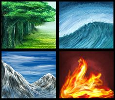 Elemental Test by starring-star on DeviantArt 5 Elements Of Nature, Elements Four, Classical Elements, Cool Wallpapers For Ipad, Nature Symbols, Ap Drawing, Illusion, Earth Wind & Fire, Water Element