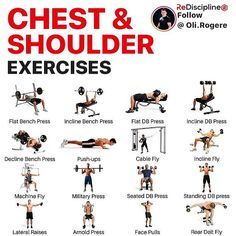 Create a 10 minute upper body workout. Pick 3 exercises from this menu. 4 rounds 30 seconds per exercise 10 second rest in between rounds Enjoy! Face Pulls, Rear Delt, Shoulder Workout, Shoulder Exercises, Lateral Raises, Workout Days, National Institutes Of Health, Bench Press