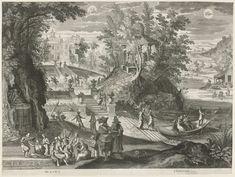Mei en juni, Aegidius Sadeler, 1615