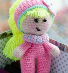 ❤ Egyszerű amigurumi baba - ingyenes baba alap horgolásminta ❤Mindy -  kreatív ötletek és dekorációk minden napra