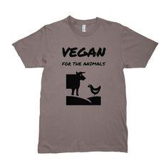 Vegan For Animals Men's Organic