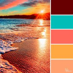 Terrific Photos Color Palette tonalidades Suggestions Whether you're a inexperienced or perhaps a classic hand, guidelines for coloration is essentially Color Schemes Colour Palettes, Paint Color Schemes, Colour Pallette, Sunset Color Palette, Beach Color Palettes, Orange Color Schemes, Color Combos, Paint Colors For Living Room, Room Colors