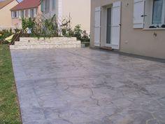 Réalisation d'une terrasse en Articimo® imprimé