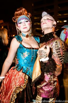 Rococopunk Costumes by Samantha Terry, via Behance