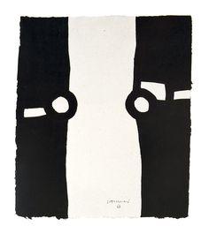 Eduardo Chillida (1924-2002) Untitled, 1987. 23.2cm H x 19.9cm W.
