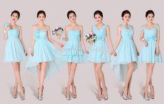 vestidos damas de honor cortos - Buscar con Google