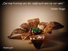 Hadarugart Copper Artwork, Victoria, Brooch, Handmade, Image, Jewelry, Jewellery Making, Jewelery, Brooches