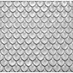 Fishscale  Pressed Metal Ceiling Panel for kitchen