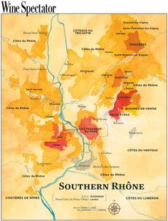 The Appellations of the Southern Rhône