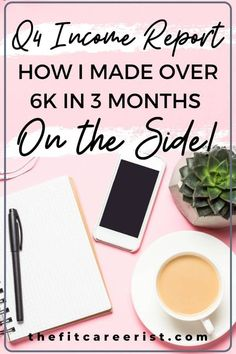 How I made 6k in 3 months on top of my full-time job. An interesting income report for anyone interested in freelance, blogging, or both! My year-long project proves that it is possible to make money online as the average busy gal! #freelancing #blogging #incomereports #makingmoneyonline Make Money From Home, Make Money Online, How To Make Money, Writing Portfolio, Multiple Streams Of Income, Make Millions, Business Organization, Blog Topics, How To Start A Blog