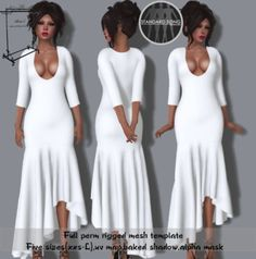 Anni's -Full perm mesh tango dress
