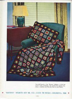 Crochet Pattern Bear Brand & Bucilla by KnitKnacksCreations