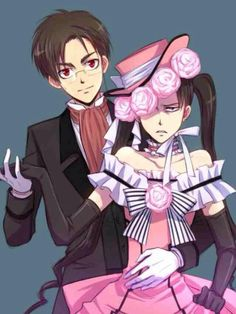 Black Butler x Attack on Titan