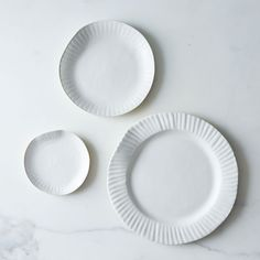 """Porcelain Paper Plate—almost worth it, but $85 for an 11"""" plate as a visual joke?"""