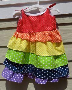 rainbow dress!