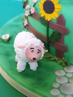 http://lamuccasbronza.blogspot.com  Farm Cake   torta fattoria, la pecorella