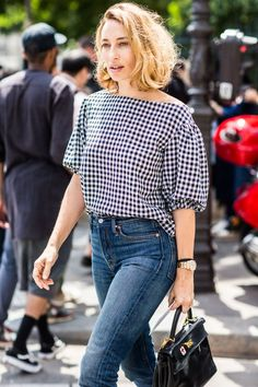 calças jeans street style