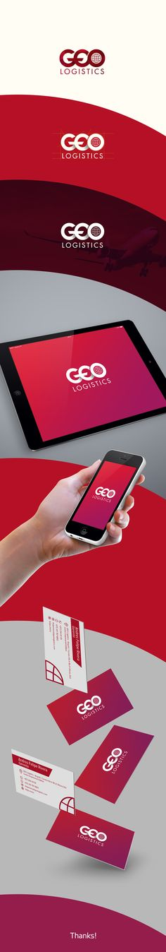 Brand Geo Logistics on Behance