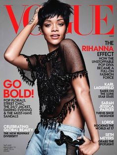 Rihanna - Vogue Magazine Cover [United States] (March 2014)