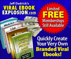 """Online Affiliate Marketing Tip: """"Imagine Pressing A Few Buttons And Instantly Creating Your Very Own Branded Cash Producing Viral Ebooks That You Can Sell Or Give Away!"""