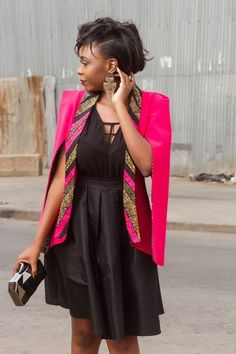 Are youlooking for African inspired Fashion? You should check out the beautiful and outstanding Cape Blazer by Nana Wax. I love all of them