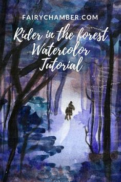 In this watercolor tutorial, I will explain and show how I painted a rider in the night. watercolor paper, Seawhite & Brighton gsm) Windsor & Newton watercolors A few jars of water. Watercolour Tutorials, Painting Tutorials, Painting Process, Watercolor Paper, Artist, Pictures, Photos, Arches Watercolor Paper, Amen