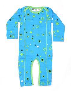 Blue suit with green stars - Kik*Kid