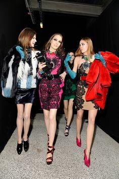 Lanvin Fall 2012 Ready-to-Wear - Beauty - Gallery - Style.com