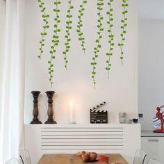 Vine wall decal