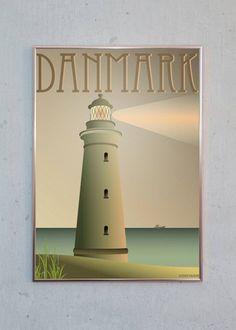 DANMARK - Fyret