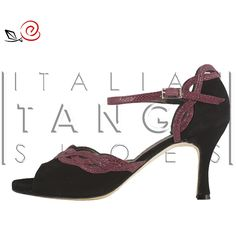 "Welcome to ""Maddalena""! Tango shoes for women with ornamental interlaced design  http://www.italiantangoshoes.com/shop/en/la-rosa-del-tango/308-maddalena.html"