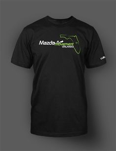 Note:  This shirt is only available for pre-order.   Show off your Orlando @MazdaMovement  pride with this high quality #shirt!  #Mazda #zoomzoom #Orlando #mazdamovement