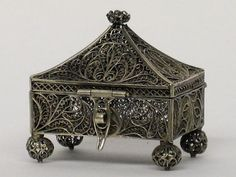 Russian filigree box from a collection at  The Hermitage.