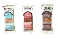 Thrive Chocolate and Caramel Bundle of 12 Nut Bars - Caramel Coconut, Chocolate Peanut Butter Chip, Chocolate Nuts and Sea Salt