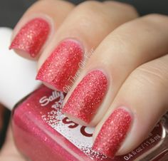 Sally Hansen #230 Pink Sprinkles, swatched on lid.  $2.00.
