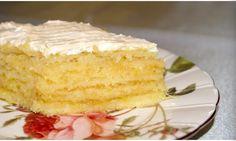 """Za okny stále ještě zima a mráz, není nad to si připravit horký čaj a tento dokonalý """"citrusový"""" dort. Chutný, aromatický, s mírnou citrónovou příchutí. Jde o dokonalé propojení chutí. Milujete-li lehké dezerty, pak je tento tou správnou volbou! Co budete potřebovat? 200 g másla 2 PL cukru 2 vejce 0,5 PL prášku do pečiva …"""