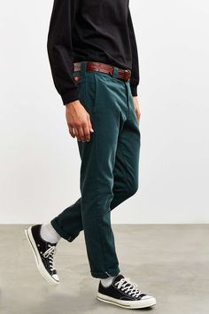Dickies X UO Washed Twill Slim Tapered Pant - Urban Outfitters