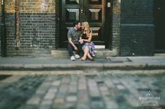 London Shoreditch Engagement Shoot | Alternative & Creative Wedding Photography UK & Destination | weheartpictures.com