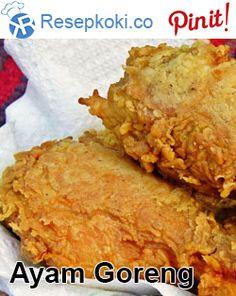 Cara Membuat Ayam Goreng KFC