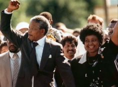 Today in history Feb 11 - Nelson Mandela freed from captivity in South Africa