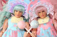 QiQi — sweet anicure and koma-san as FACT!