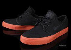 Nike SB Stefan Janoski Low-Black-Terra Cota