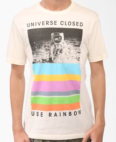 Universe Closed Tee | 21 MEN    Is it bad I want this? guys clothes = <3