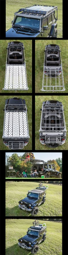 2007-2015 Jeep JK 4 Door Sliding Roof Rack ****(ON SALE UNTIL END OF THE YEAR…