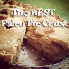 The Perfect Grain-Free Pie Crust (for Pot Pie or Fruit Pie) -almond, tapioca, arrowroot, psyllium/gum. Paleo Sweets, Paleo Dessert, Keto Desserts, Gluten Free Treats, Healthy Treats, Paleo Pie Crust, Goodies, Paleo Baking, Foods With Gluten